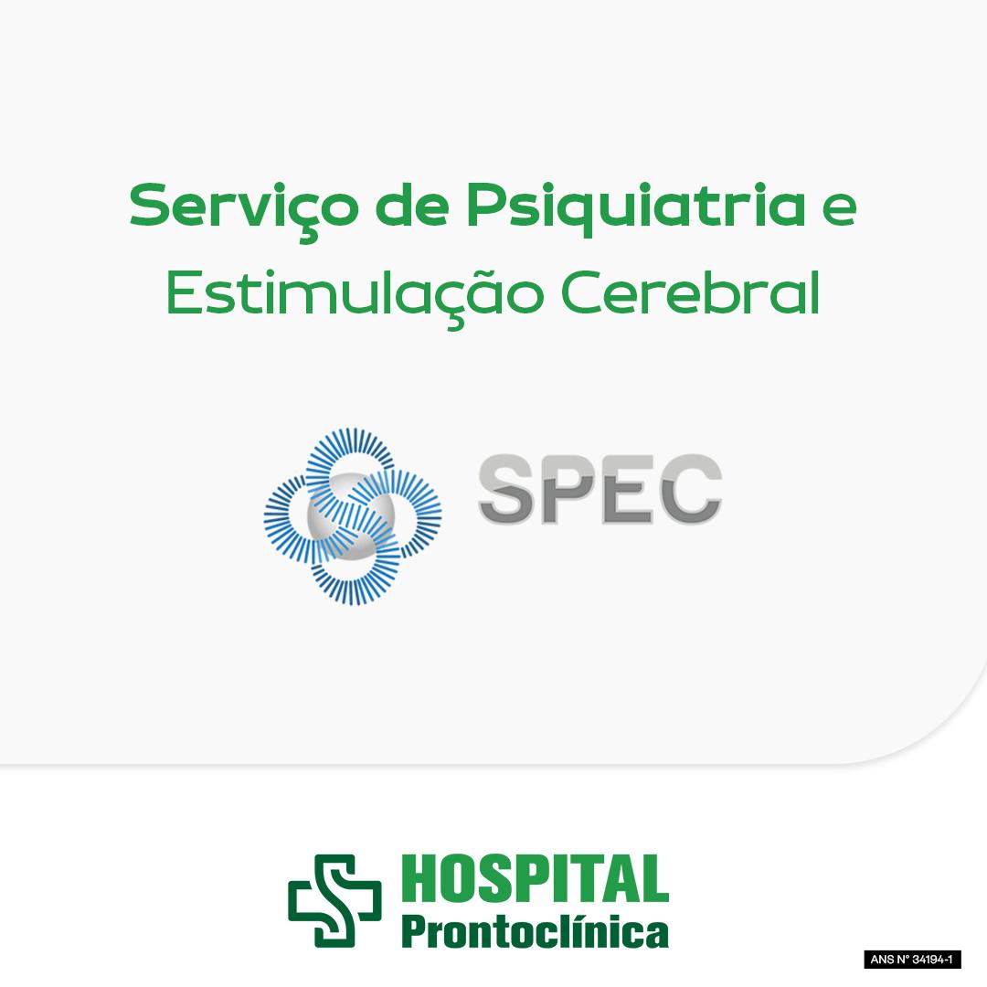 Serviço de Psiquiatria no Hospital Prontoclínica