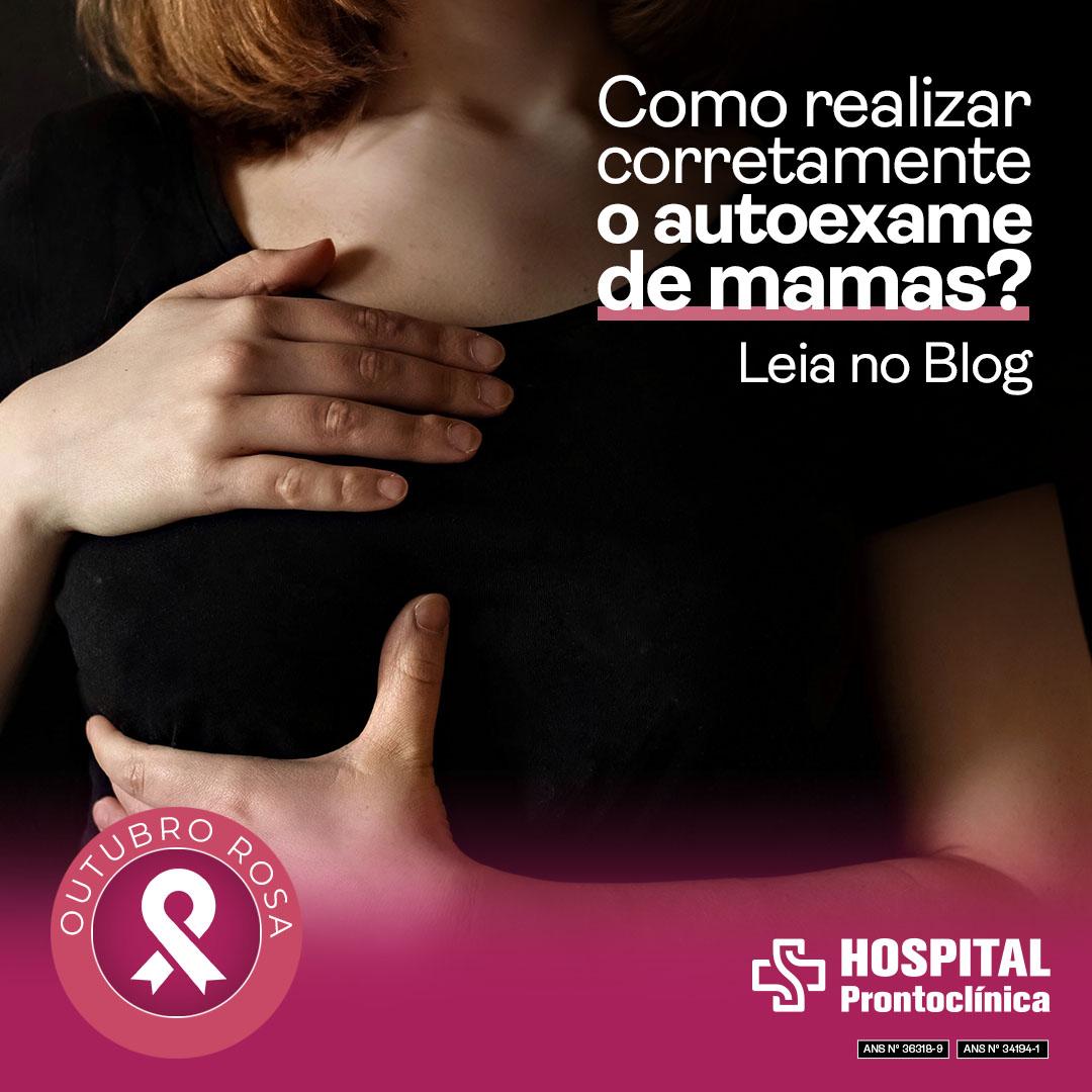 Autoexame das mamas Prontoclinica